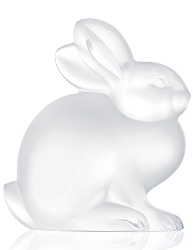 Lalique Sitting Rabbit