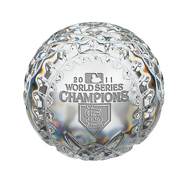 Waterford Crystal World Series Champions 2011 St. Louis Cardinals, Baseball