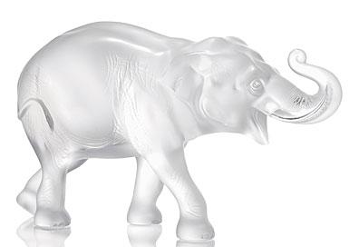 Lalique Elephant Sumatra