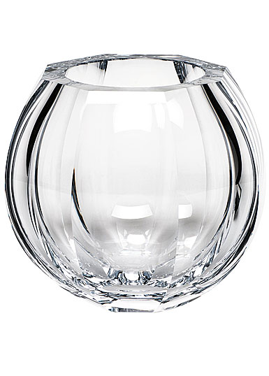 "Moser Crystal Beauty 7.9"" Vase, Clear"