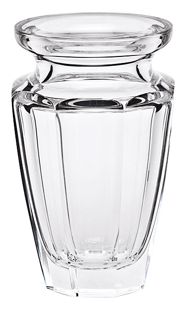 "Moser Crystal Eternity Vase 7.9"" Clear"