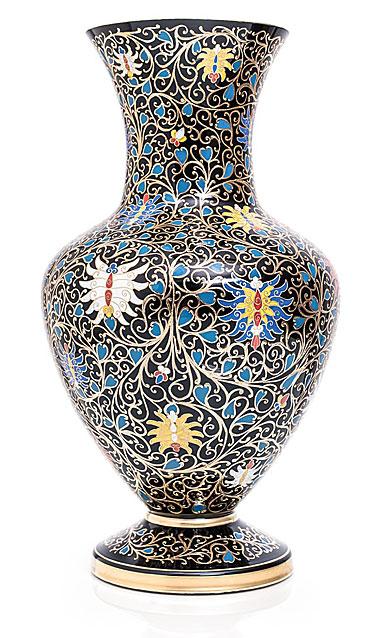 "Moser Crystal 11.8"" Ornament Vase, Limited Edition"