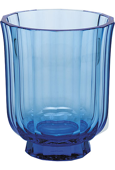 """Moser Crystal Paradise 7.9"""" Vase, Aquamarine"""