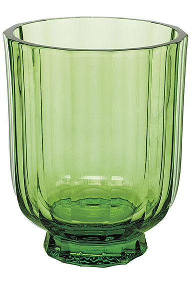 "Moser Crystal Paradise 7.9"" Vase, Ocean Green"