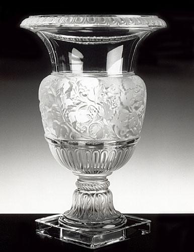 Lalique Versailles Vase, Clear