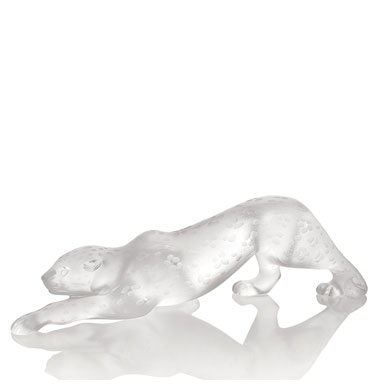 Lalique Ziela Panther Lost Wax