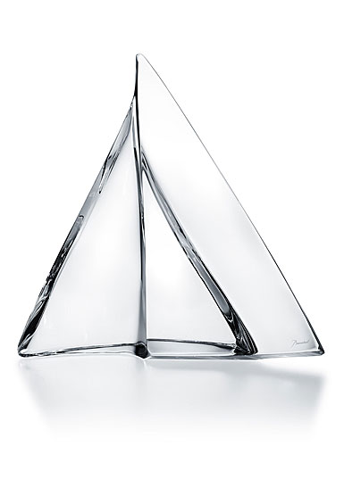 Baccarat Crystal, Alizee Crystal Sailboat Sculpture