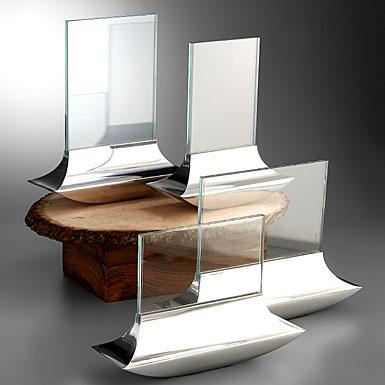 Nambe Metal Arc Frame, 6 x 4 Horizontal
