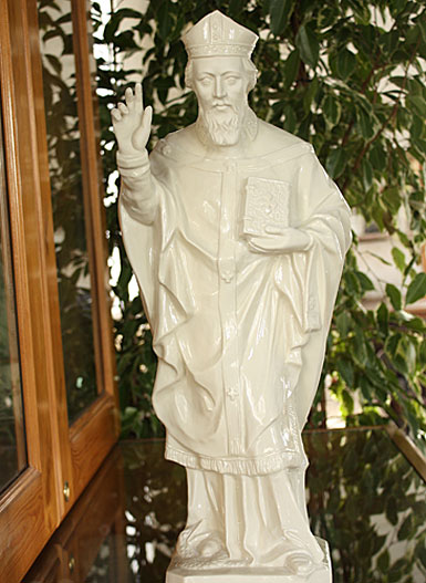 Belleek Saint Patrick Figure