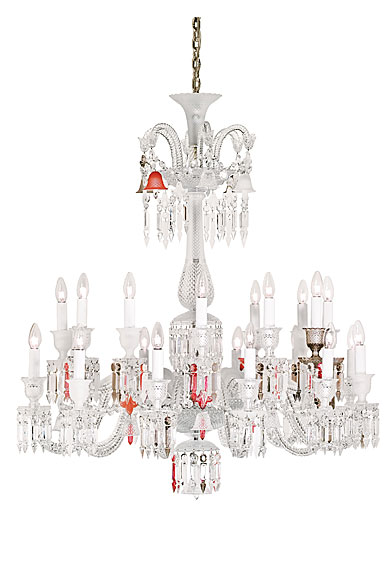 Baccarat Zenith Unfocused Chandelier, 24 Light