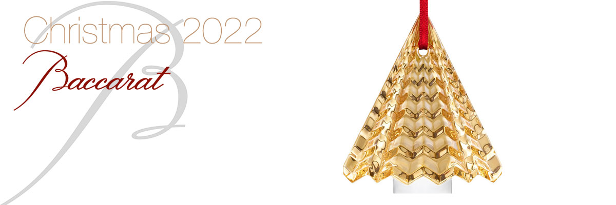Baccarat 2020 Christmas Ornament Baccarat 2020 Christmas Ornaments | Cashs of Ireland