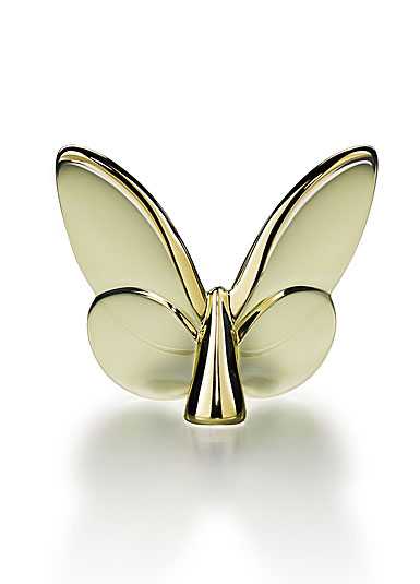 Baccarat Crystal, Lucky Butterfly, Gold