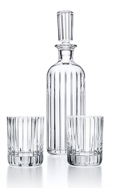 Baccarat Harmonie Round Decanter and DOF Pair Limited Edition Set
