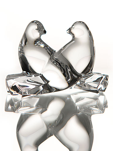 Baccarat Crystal, Loving Doves Clear