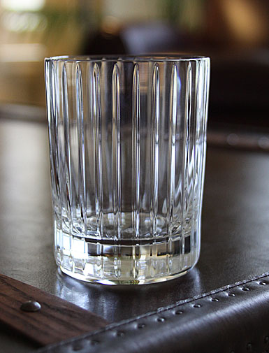 Baccarat Crystal, Harmonie Crystal Double Old Fashioned Tumbler, Large Tumblers, Pair