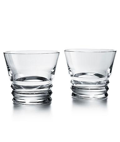 Baccarat Crystal, Vega Tumbler DOF Tumbler #2, Pair
