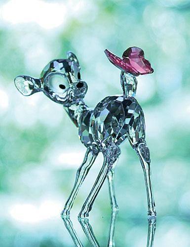 Swarovski Disney, Bambi 3 1/4in X 3 13/16in