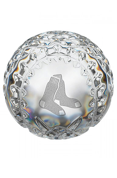 Waterford Boston Red Sox Crystal Baseball