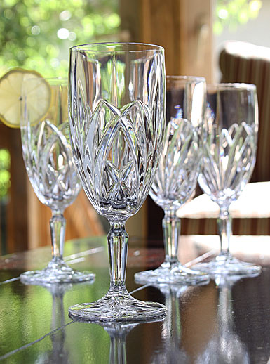 marquis by waterford brookside iced beverage glass  set of 4