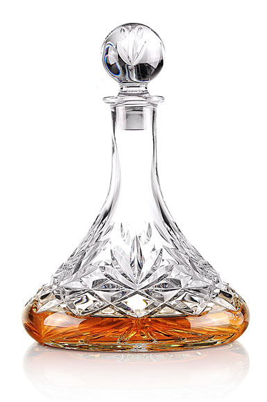 Cashs Ireland, Annestown Crystal Ships Decanter
