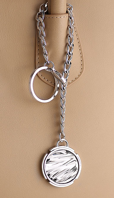 Cashs Crystal Atlantic Way Crystal Bag Charm and Key Ring