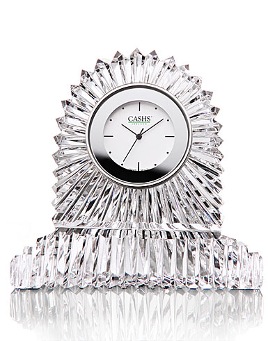 Cashs Ireland, Georgian Carriage Crystal Clock