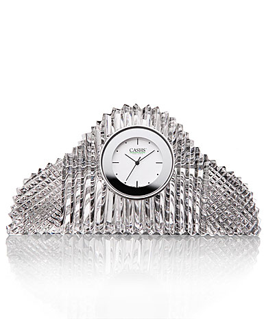Cashs Ireland, Georgian Mantle Crystal Clock