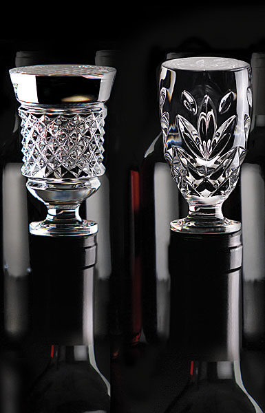 Cashs Ireland, Crystal Wine Bottle Stoppers Set, Cooper and Annestown