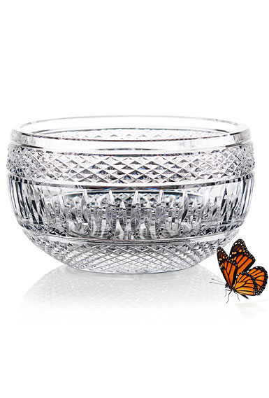 "Cashs Ireland, Art Collection Cooper Classic 8"" Crystal Bowl"