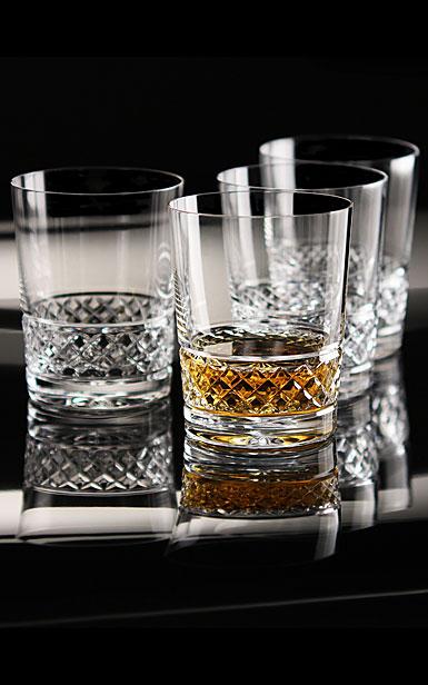 Cashs Ireland, Cooper Single Malt Crystal Whiskey Glasses, Set of 4