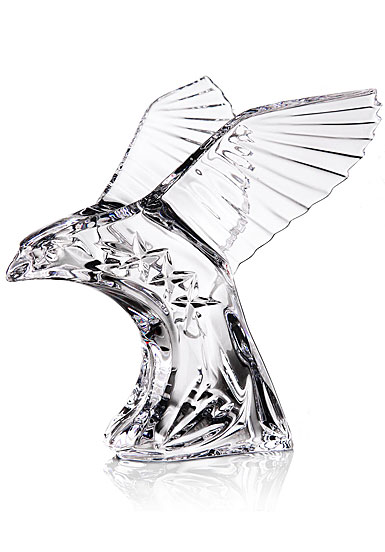 Cashs Ireland, American Eagle Crystal Sculpture