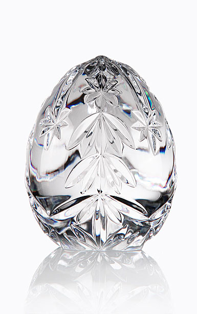 Cashs Ireland, Crystal Christmas Tree Egg