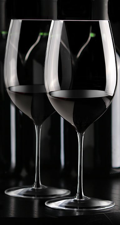 Cashs Crystal Grand Cru Cabernet Merlot Wine Glasses, Pair
