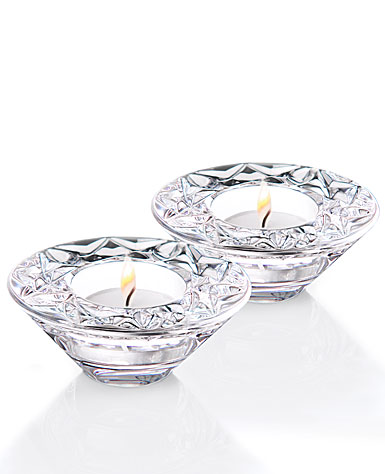 Waterford Crystal Huntley Celebration Votive Pair