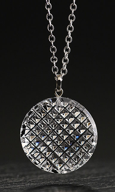 Cashs Ireland, Crystal Kerry Pendant Necklace, Large