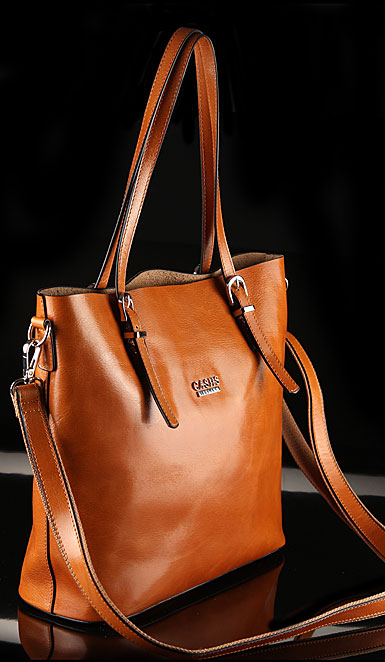 Cashs Ireland, Top Grain Leather Camel Adare Tote Handbag, Limited Edition