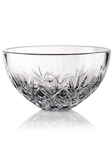 "Cashs Ireland, Lucky Shamrock 10"" Crystal Bowl"