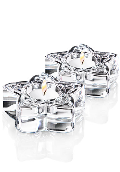 Cashs Ireland, Trinity Star Crystal Votive, Large