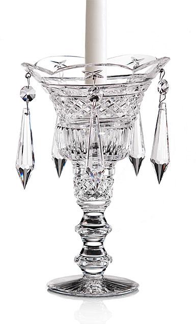 "Cashs Ireland, Crystal Art Collection, Georgian Teardrop 9"" Candleholder"