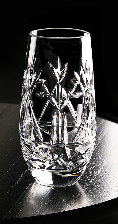 "Cashs Ireland, Tree of Life 6"" Crystal Vase"