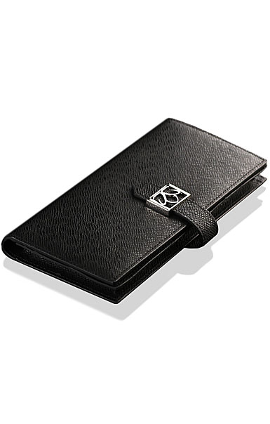 Cashs Top Grain Leather Black Avondale Wallet Purse