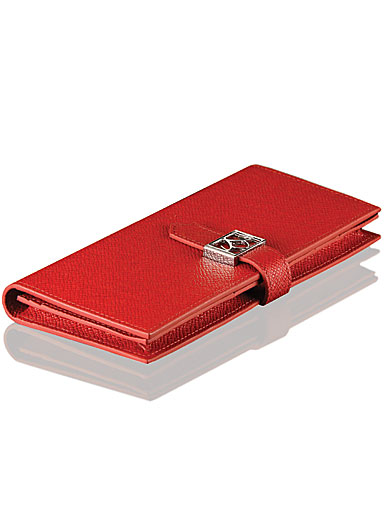 Cashs Ireland, Top Grain Leather Red Avondale Wallet