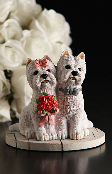 Cashs Ireland, Wedding Couple Westies