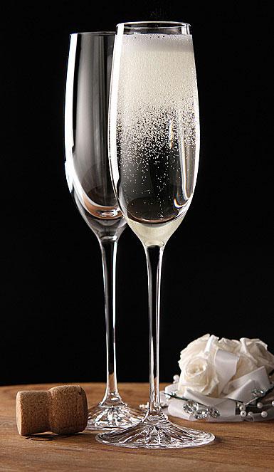 Cashs Wine Cru Toasting Flutes, Pair