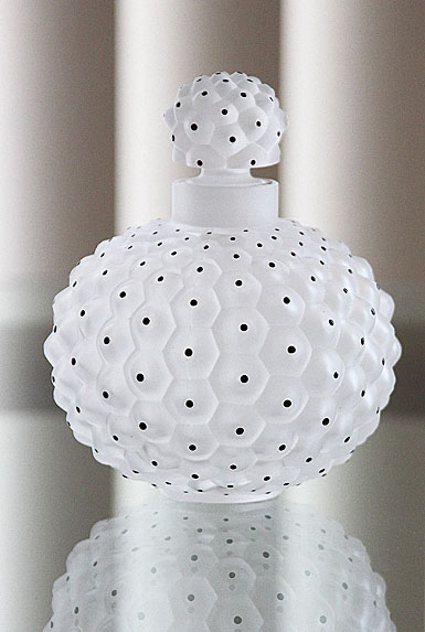 Lalique Crystal, Crystal Perfume Bottle No. 2 Cactus, Clear