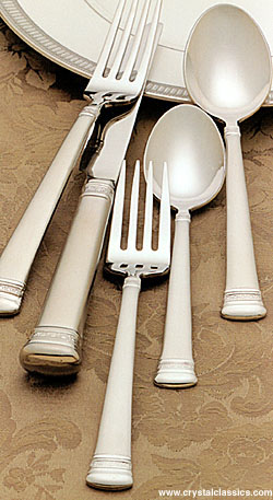 Waterford Carina Matte Flatware, 5-Piece Place Setting