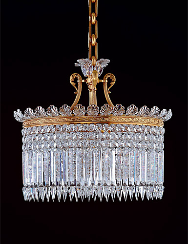 Baccarat Crystal Crinoline Chandelier, 13 Light