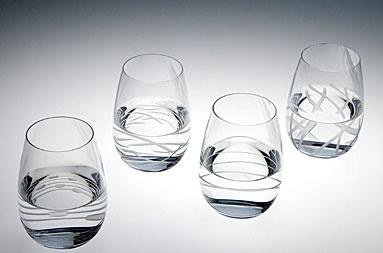 Riedel Doozy Wine Tumblers, Set of 4
