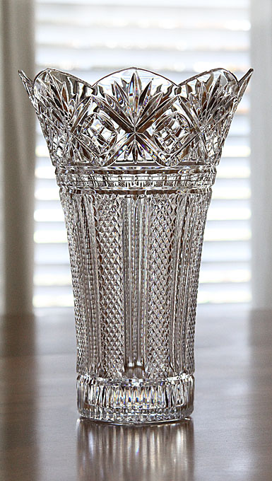 Waterford Designer Studio Ard Ri Vase by Tom Cooke