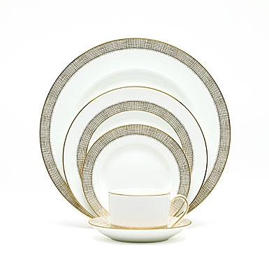 Vera Wang Gilded Weave 5-Piece Place Setting